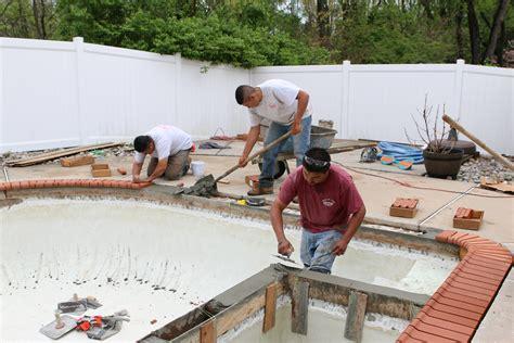 swimming pool tile installation pennsylvania new jersey