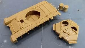 模型製作:Revell 1/72 T-90A ロシア連邦軍主力戦車 Part1 - 旅と模型