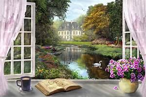 Blick Aus Dem Fenster Poster : fenster poster ab 9 90 online bestellen gratisversand posterlounge ~ Markanthonyermac.com Haus und Dekorationen