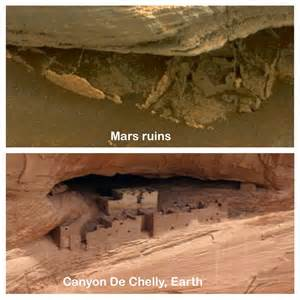 Ancient Ruins Of Walls, Mines And Gold Found On Mars, Jan ...