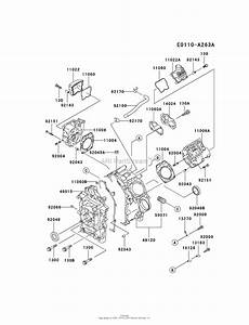Kawasaki Fd501d Crankcase