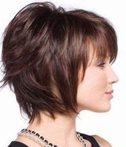 Coupe Mi Courte Femme : coiffure femme mi court https tendances ~ Nature-et-papiers.com Idées de Décoration