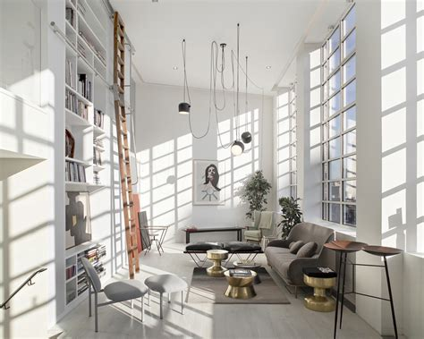 Small Loft In An School by Former Csm School Luxury Apartments E Architect
