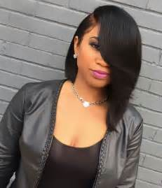 Hairstyle in Sew Short Quick Weave