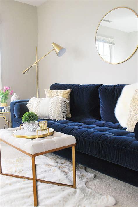 sven cascadia blue sofa blue couch living room living
