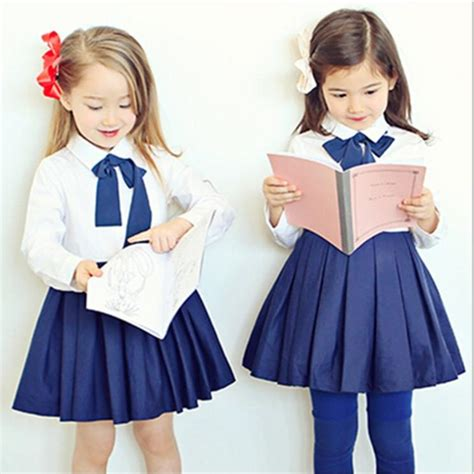 sleeve fit dress 2018 european american style school dresses 2018