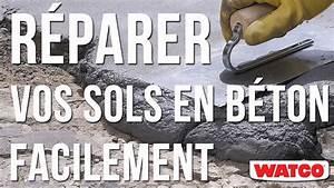 Renover Dalle Beton Exterieur : comment r parer un sol en b ton mortier de r paration b ton youtube ~ Melissatoandfro.com Idées de Décoration