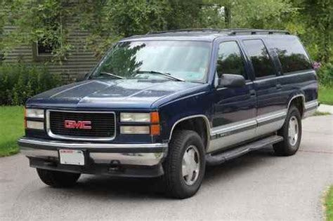 how to sell used cars 1996 gmc 1500 interior lighting sell used 1996 gmc c1500 suburban slt sport utility 4 door 5 7l runs great in saukville