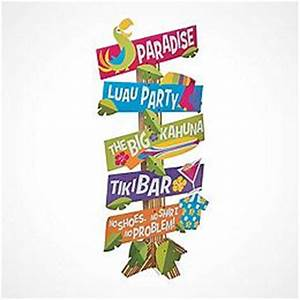 Luau Decorations, Luau Party Decorations - Hawaiian Luau