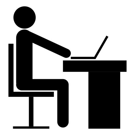 pictogramme bureau icon request fa office issue 9726 fortawesome font