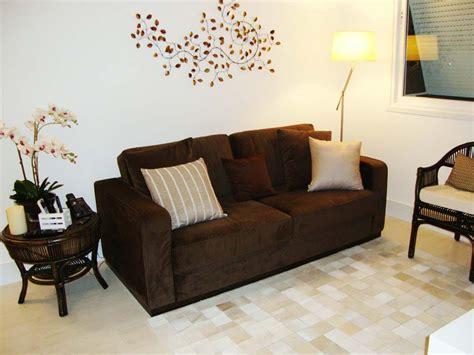 decoração de sala pequena sofá marrom escuro sof 225 marrom decora 231 227 o pinterest sof 225 marrom marrom
