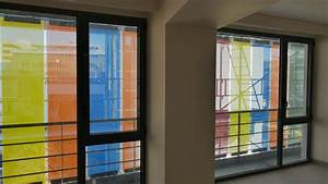 Building Envelope - Motorized Colored Glass Shades ...