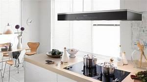 attrayant hauteur ilot central cuisine 4 quelle hotte With hotte de cuisine pour ilot central
