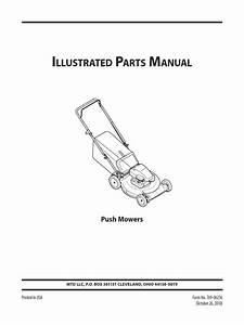 Briggs And Stratton Model 9000  Model 10000  Part Guide