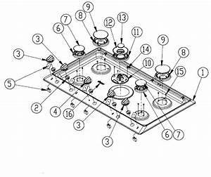 Dacor Cooktop Parts