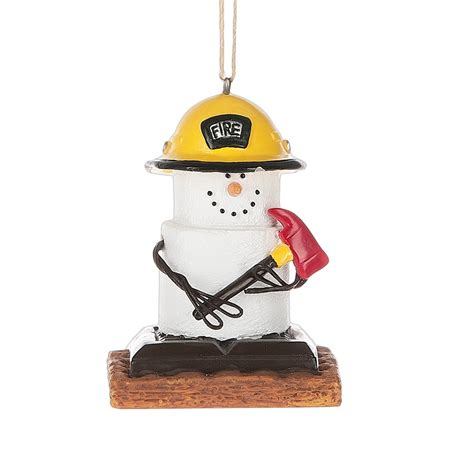 s more fireman christmas ornament by midwest cbk
