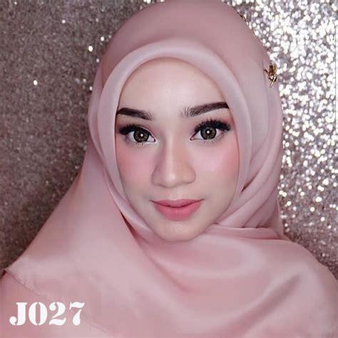 jilbab pesta segiempat organza square  fika shop