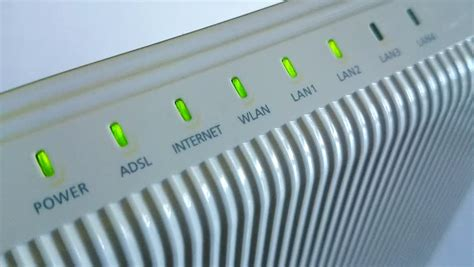 Router Lights Blinking by Adsl Router Blinking High Definition Footage