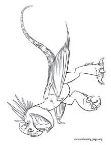 How to Train Your Dragon Stormfly Coloring Pages