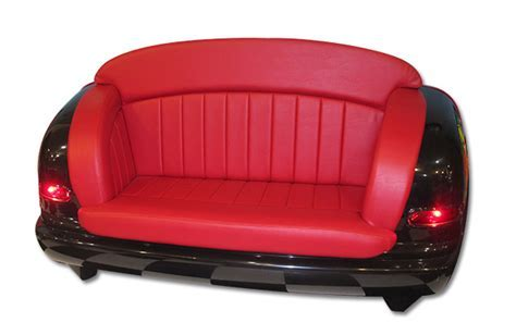 Custom Car Seat Sofa, Retro Furniture, Seating, Game Room