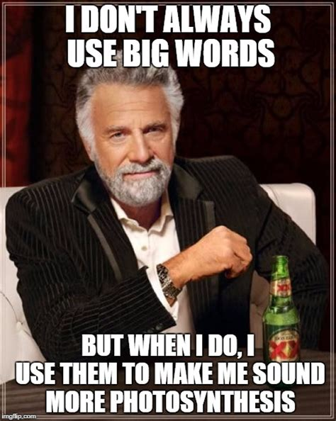 Meme Words - the most interesting man in the world meme imgflip