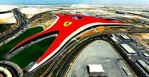 The scuderia ferrari marlboro drivers visited ferrari world abu dhabi, the theme park centred on the maranello marque. elan | Ferrari World Abu Dhabi's unveils new rollercoaster - elan