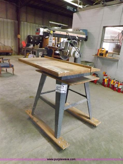 dewalt  power shop radial arm  item  sold