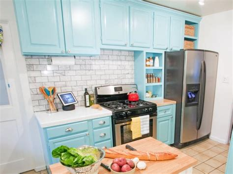 repainting kitchen cabinets pictures options tips ideas hgtv