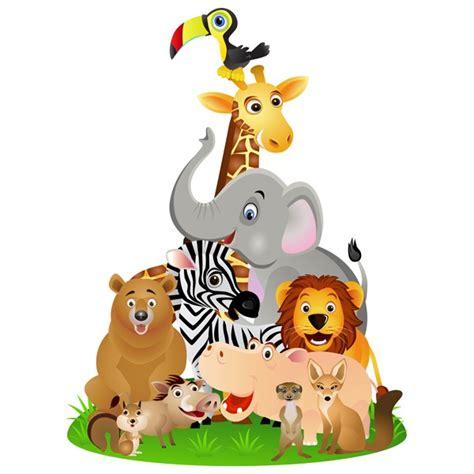 chambre bébé animaux sticker animaux jungle décoration afrique pour chambre bébé