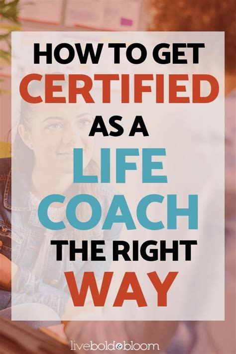 certified   life coach    life