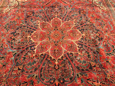 Wool Rugs by 10x13 Knotted Iran Rug Woven Wool Heriz 9 X