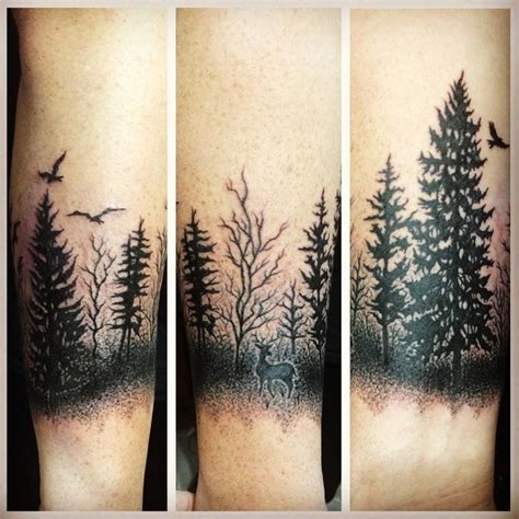 tatouage sapin histoire  illustrations