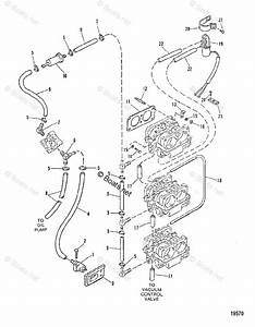 Mercury Mercury  U0026 Mariner Outboard Parts By Hp  U0026 Liter 150hp Oem Parts Diagram For Fuel Lines