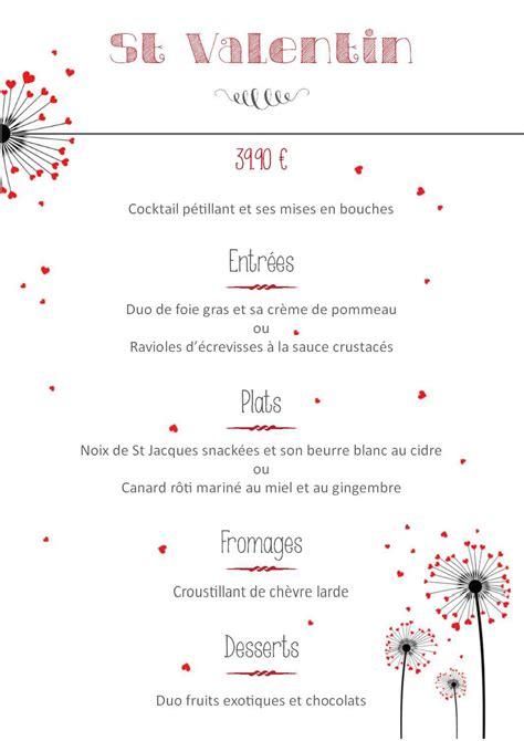cuisine bistronomique menu valentin le bistrot gourmet la cuisine