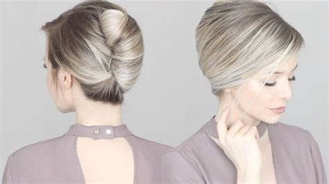 French Twist Updo Hair Tutorial