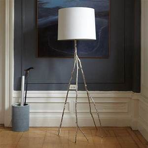 silver branch floor lamp With silver birch floor lamp
