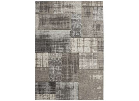 canapé convertible destockage grand tapis design patchwork gris clair