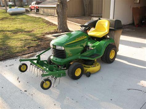 John Deere Lawn Mower Attachments