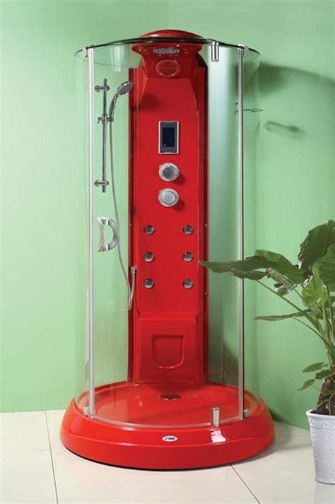 red  steam shower cabin mm  mm