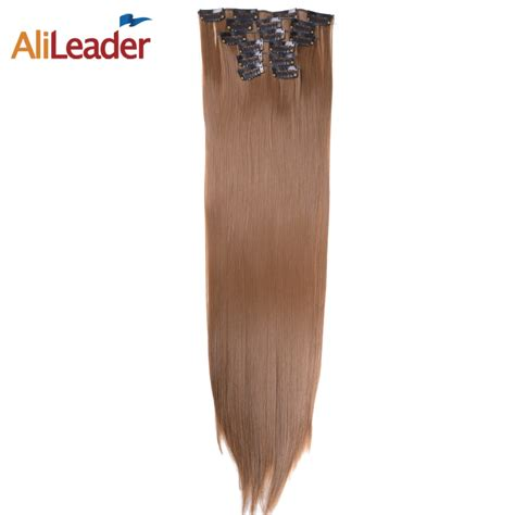 Alileader Products 16 Clips 6 Pcsset Full Head Hair
