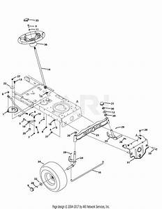Troy Bilt 13bx79kt011 Horse  2012  Parts Diagram For