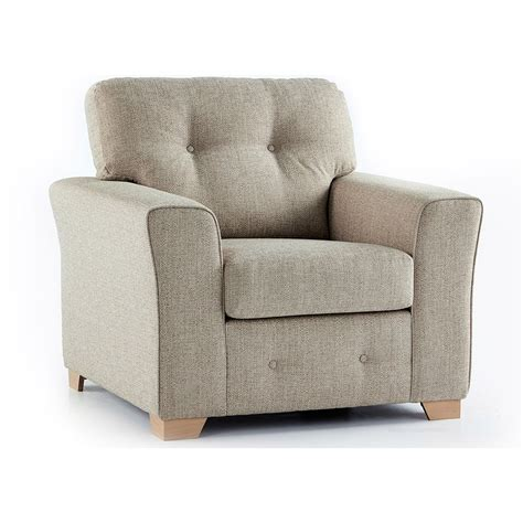 Fabric Armchair by Plumstead Fabric Armchair In Beige Just Sit On It