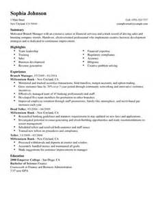 assistant branch manager resume objective resume objective exles branch manager augustais