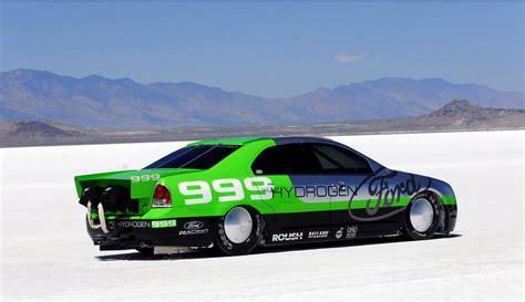 ford fusion hydrogen  land speed record news