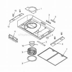 Broan Qp130ss Parts List And Diagram   Ereplacementparts Com