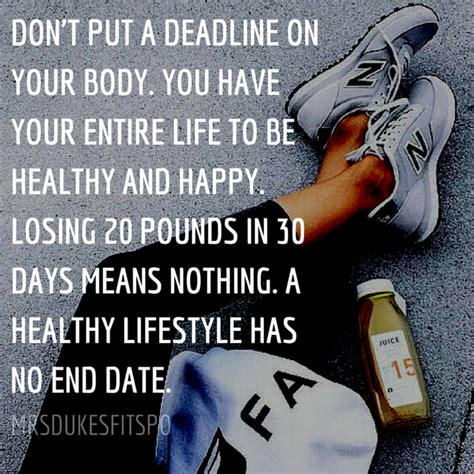 Don't Put A Deadline On Your Body — Jess Dukes