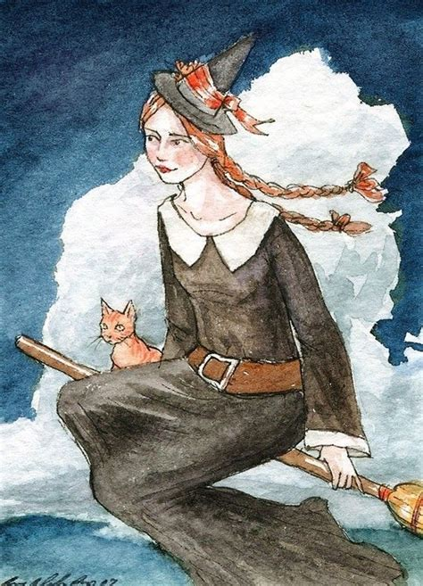 witch school aceo limited edition