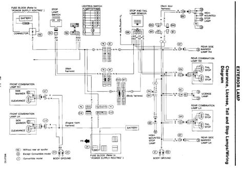 300zx Turn Light Wiring Diagram of my 1993 300zx only has turn signal lights in the rear