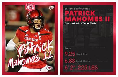 Mahomes Patrick Nfl Tech Texas Chiefs Kansas