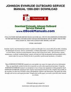 Johnson Evinrude Outboard Service Manual 1990